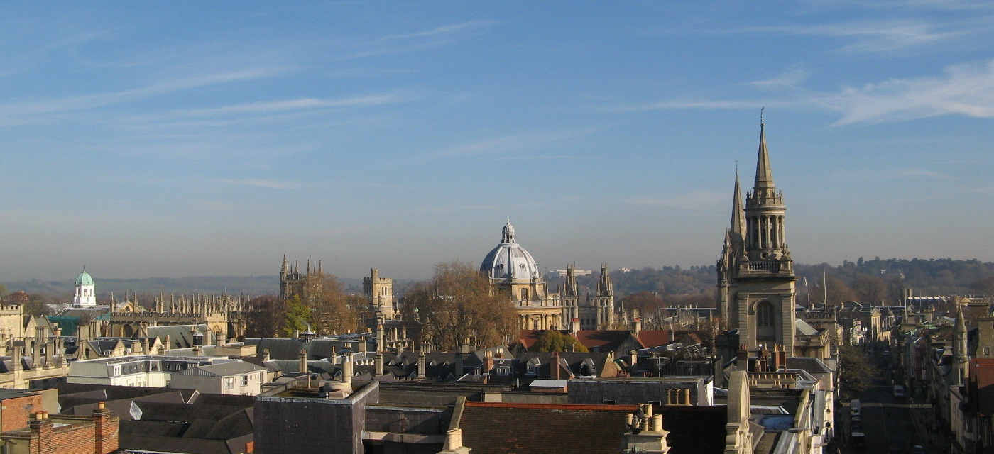 A view of Oxford